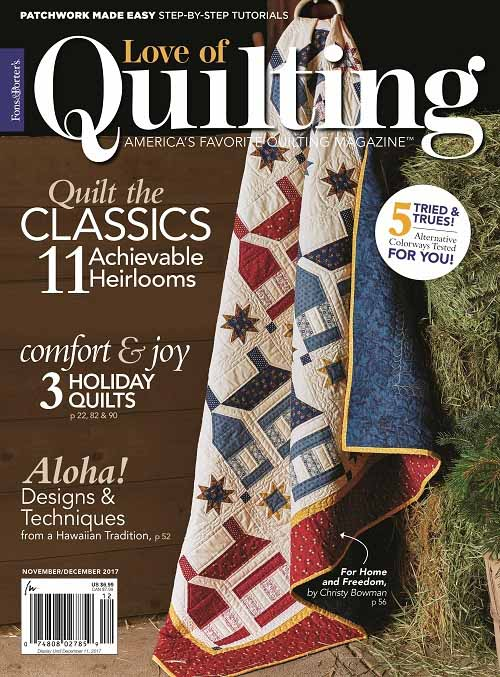 store edition porter august quilting july fons of love digital magazine issue quilt