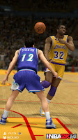NBA 2K14 Magic Johnson (Lakers) & John Stockton (Utah Jazz)