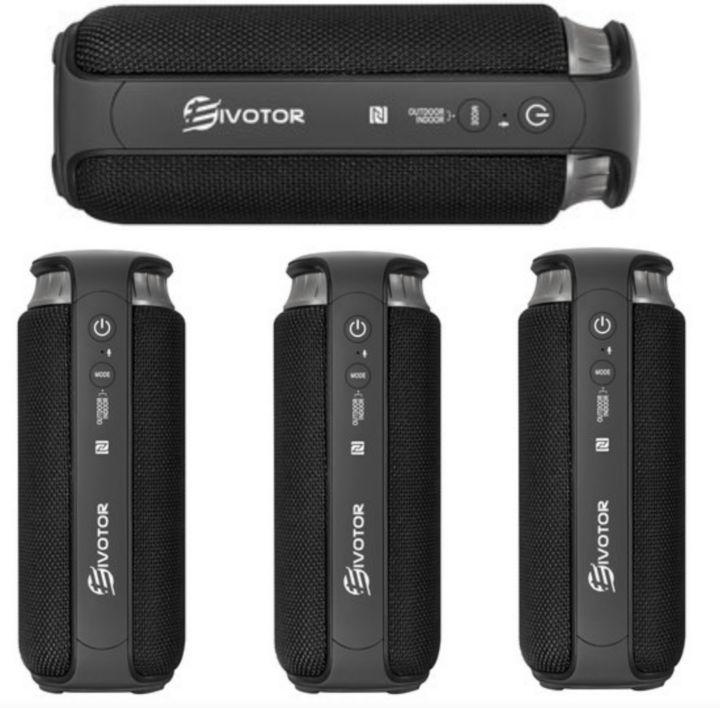 Eivotor Bluetooth Speakers: Mini Compact Waterproof Wireless Sound-Box - Indoor and Outdoor Entertainment Speaker