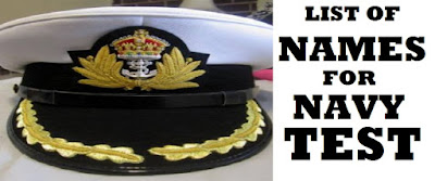 Nigerian Navy List of Candidates for Batch 27 Aptitude Test is Out
