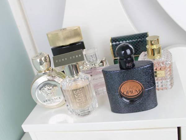 Mijn parfum collectie