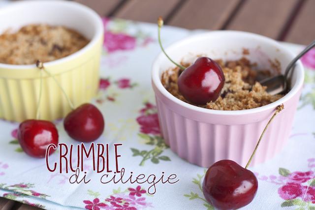 [I love food] Crumble estivo alle ciliegie