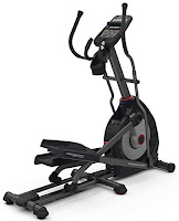 Schwinn MY16 430 Elliptical Trainer Machine, newly designed for 2016/17, with 20 ECB resistance levels, 22 programs, 10 degree incline