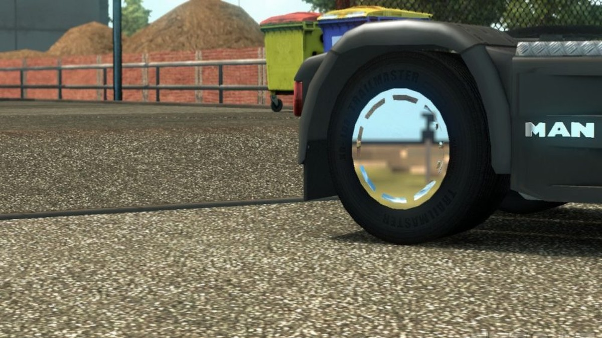 Chrome MAN Wheel