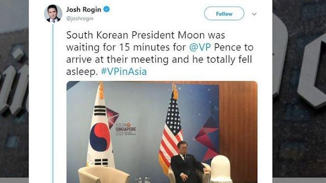 Presiden Filipina Rodrigo Duterte dan PM Korsel Moon Jae-in Tertidur di KTT ASEAN