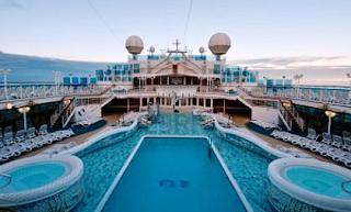 Cruise Ship Swimming Pool