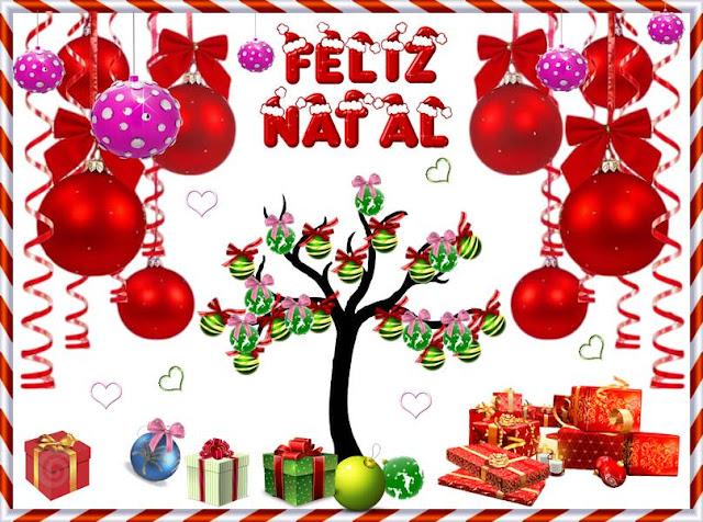 Cartões postais de Feliz Natal