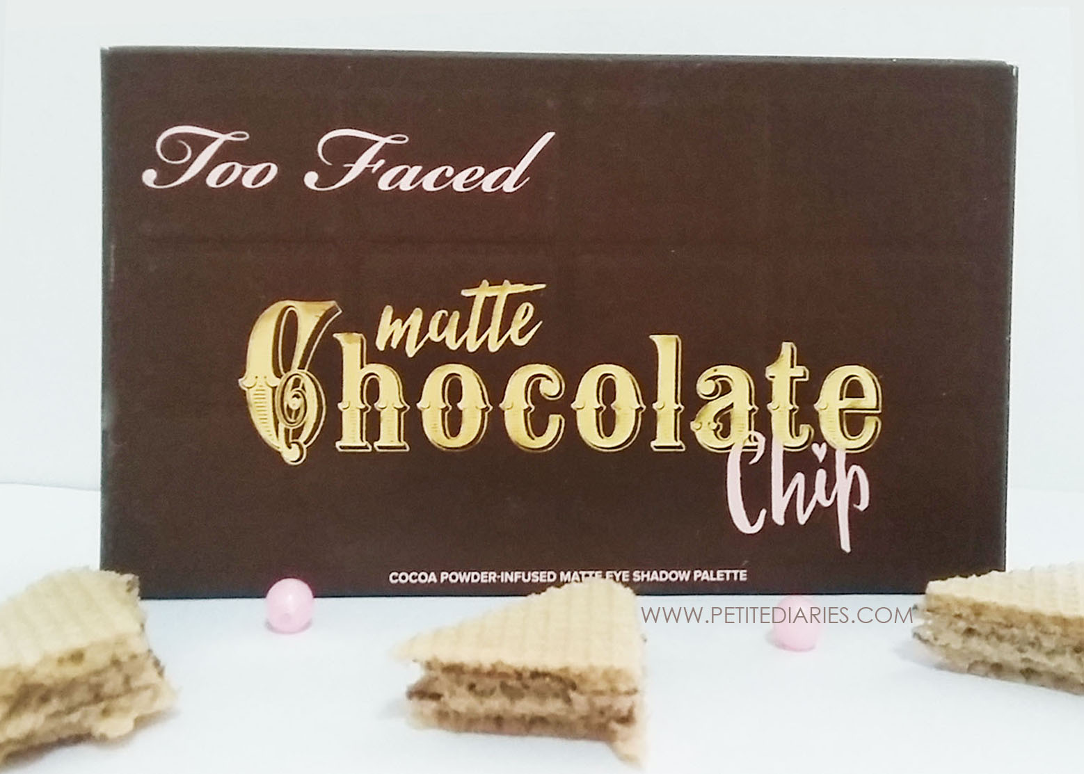 toofaced matte chocolate chip eyeshadow