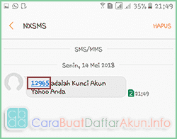 daftar email yahoo lewat hp android