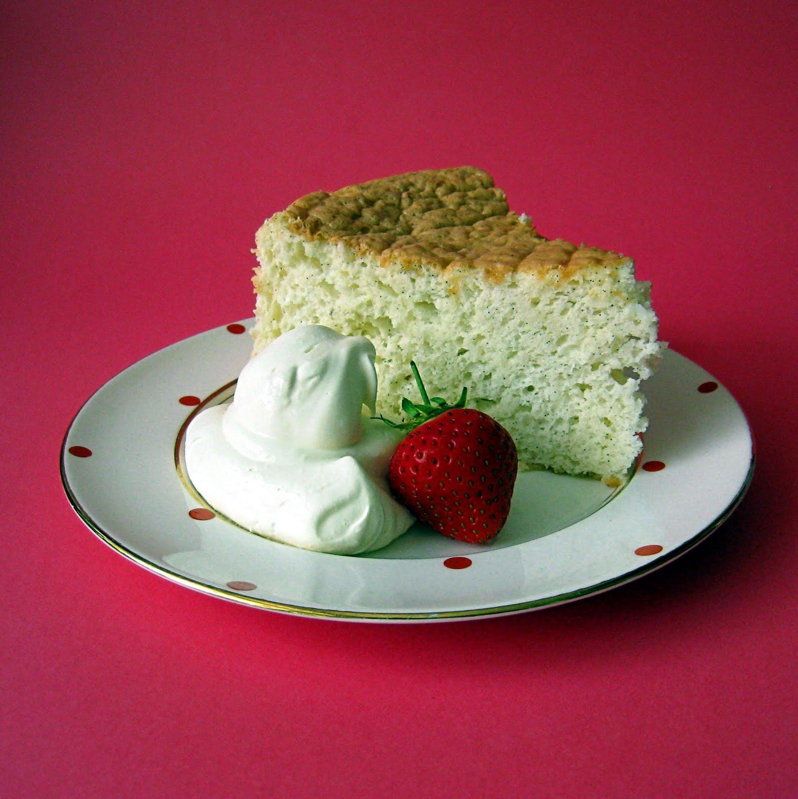 Maple Almond Chiffon Cake Recipe