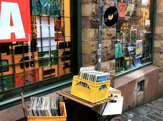 Record Store in Stockholm