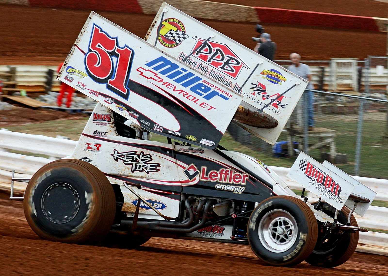 Central Pa Racing Scene Freddie Rahmer Wins Wild Sprint Car