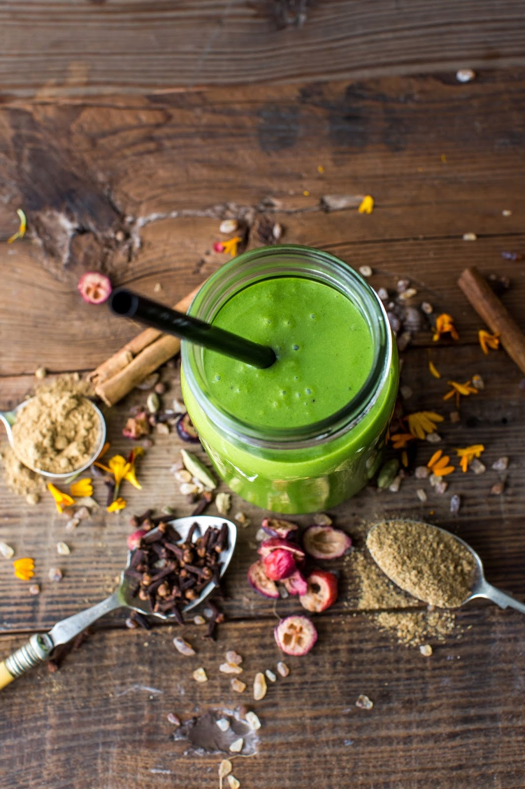 Spiced Pumpkin Green Smoothie