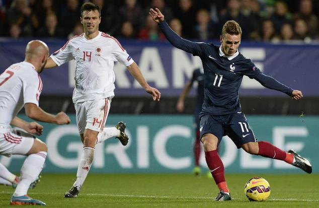 Prancis vs Albania