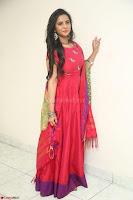 Manasa in Pink Salwar At Fashion Designer Son of Ladies Tailor Press Meet Pics ~  Exclusive 82.JPG