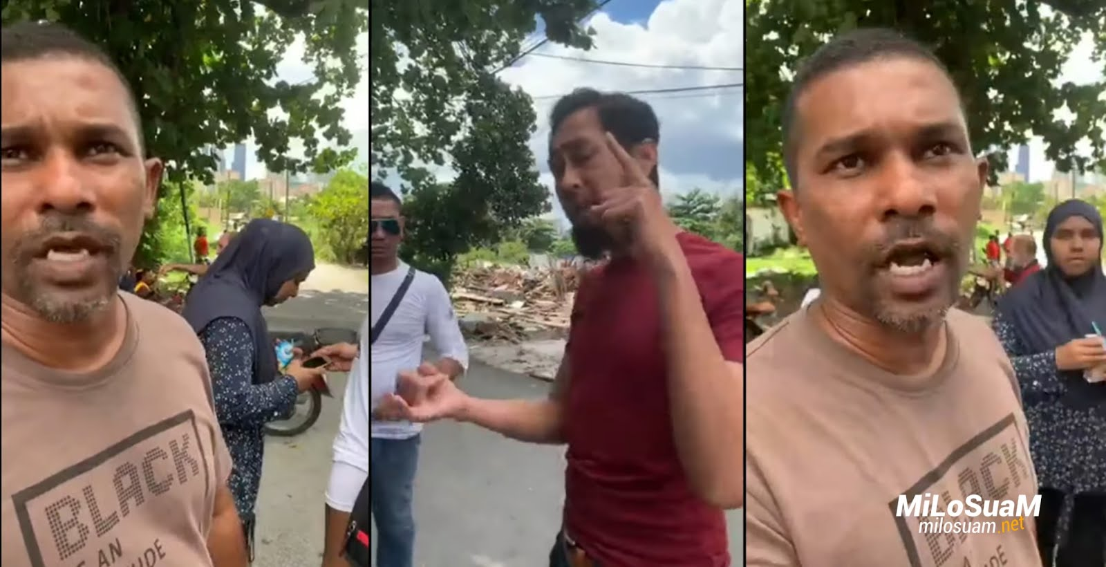 Rumah Melayu Kampung Segambut Permai dirobohkan