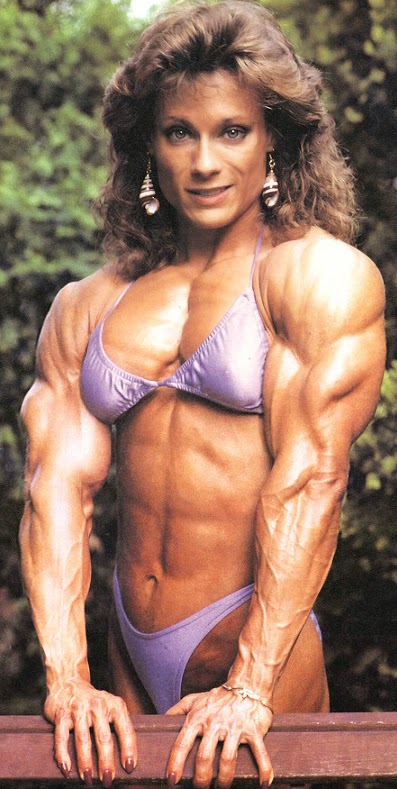 80's Female Muscle: Sue Myers