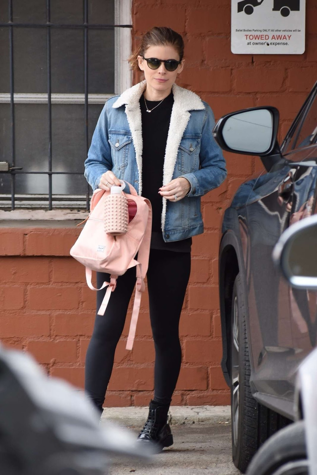 Kate Mara - Leaving a dance class in Beverly Hills 01/15/19