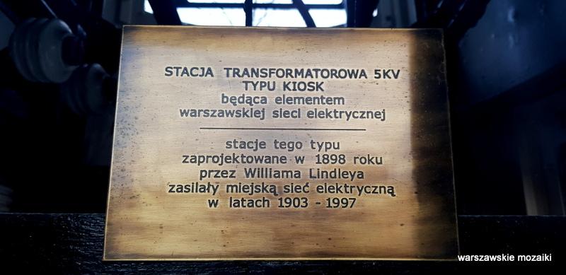Warszawa Warsaw kiosk elektryczny innogy odnowiony wybrzeże kościuszkowskie powiśle
