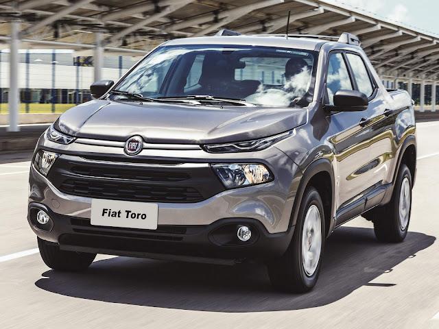 Fiat Toro - 5º carro mais vendido do Brasil