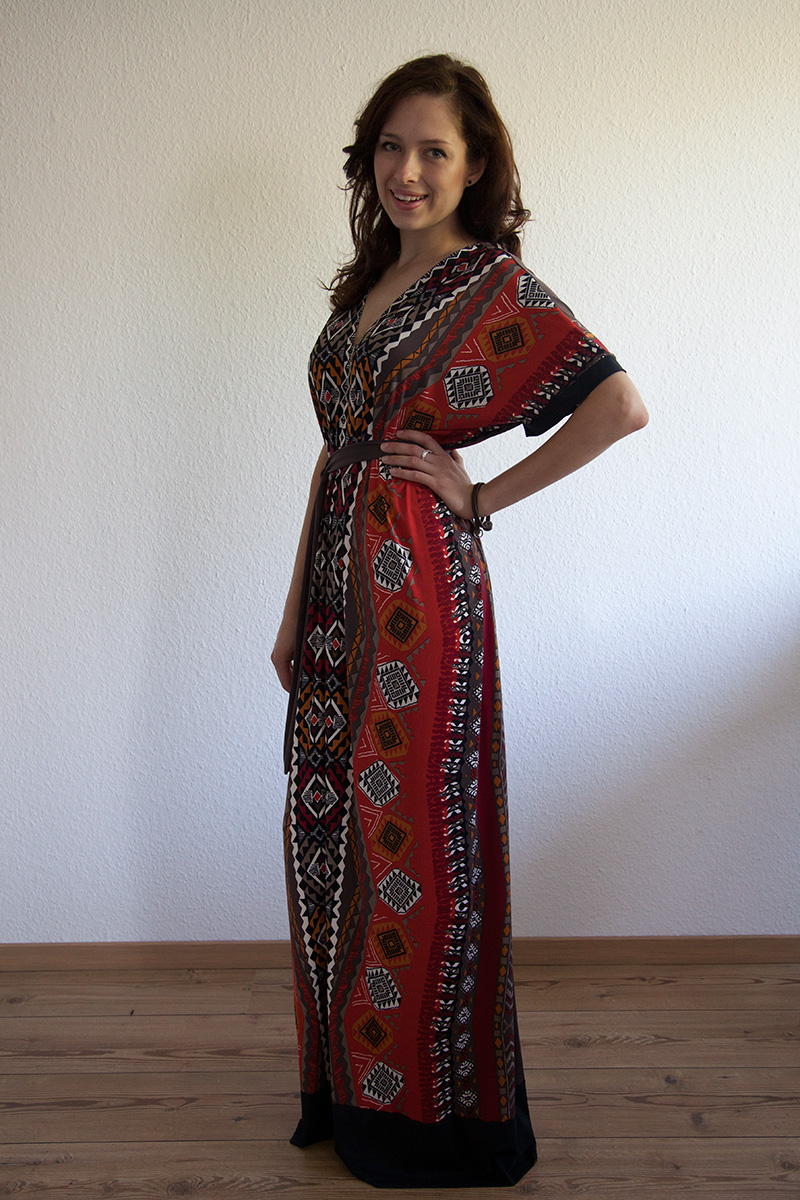 Favorit Einfaches (Maxi-)Kleid nach Schemaschnitt | von mri EK39