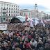 Decenas de miles de personas se unen para protestar por las míseras pensiones y los 3 años de la Ley Mordaza