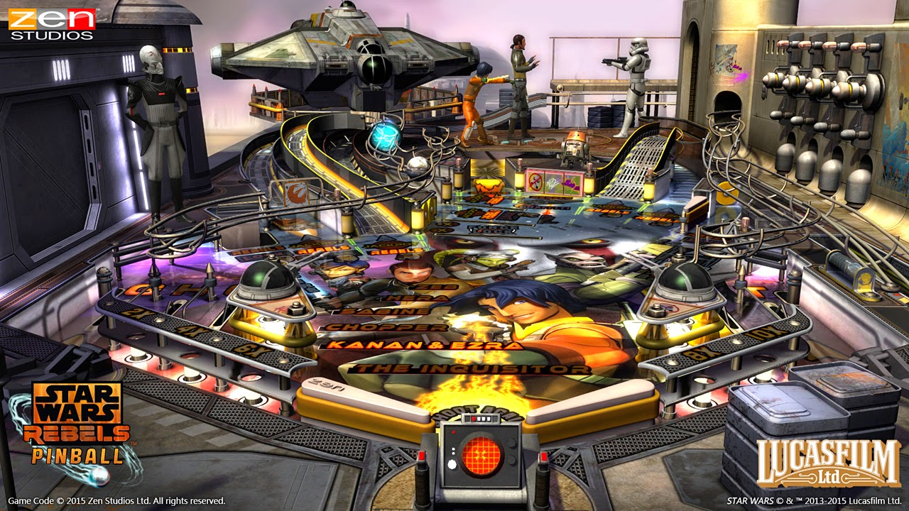 A look at the latest two Zen Pinball tables - Digitally