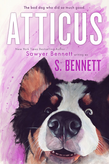 Cover reveal: Atticus by Sawyer Bennett
