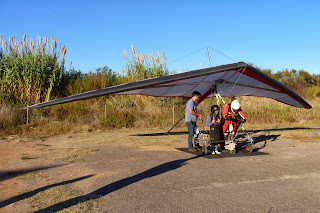 Sky Gliding-Ala delta en Castellón