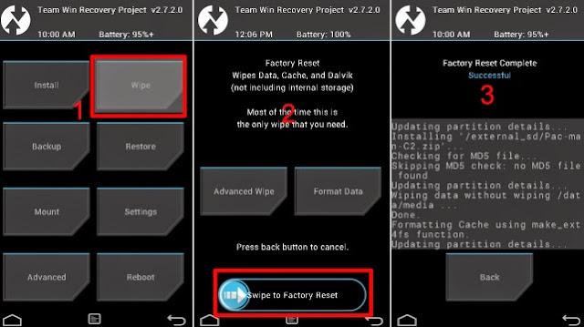 Cara Instal Android 7.0 di Galaxy S7 G930F TGP Nougat ROM 3