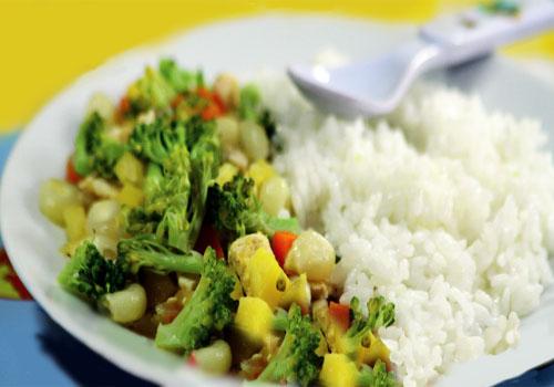 Fiesta de verduras
