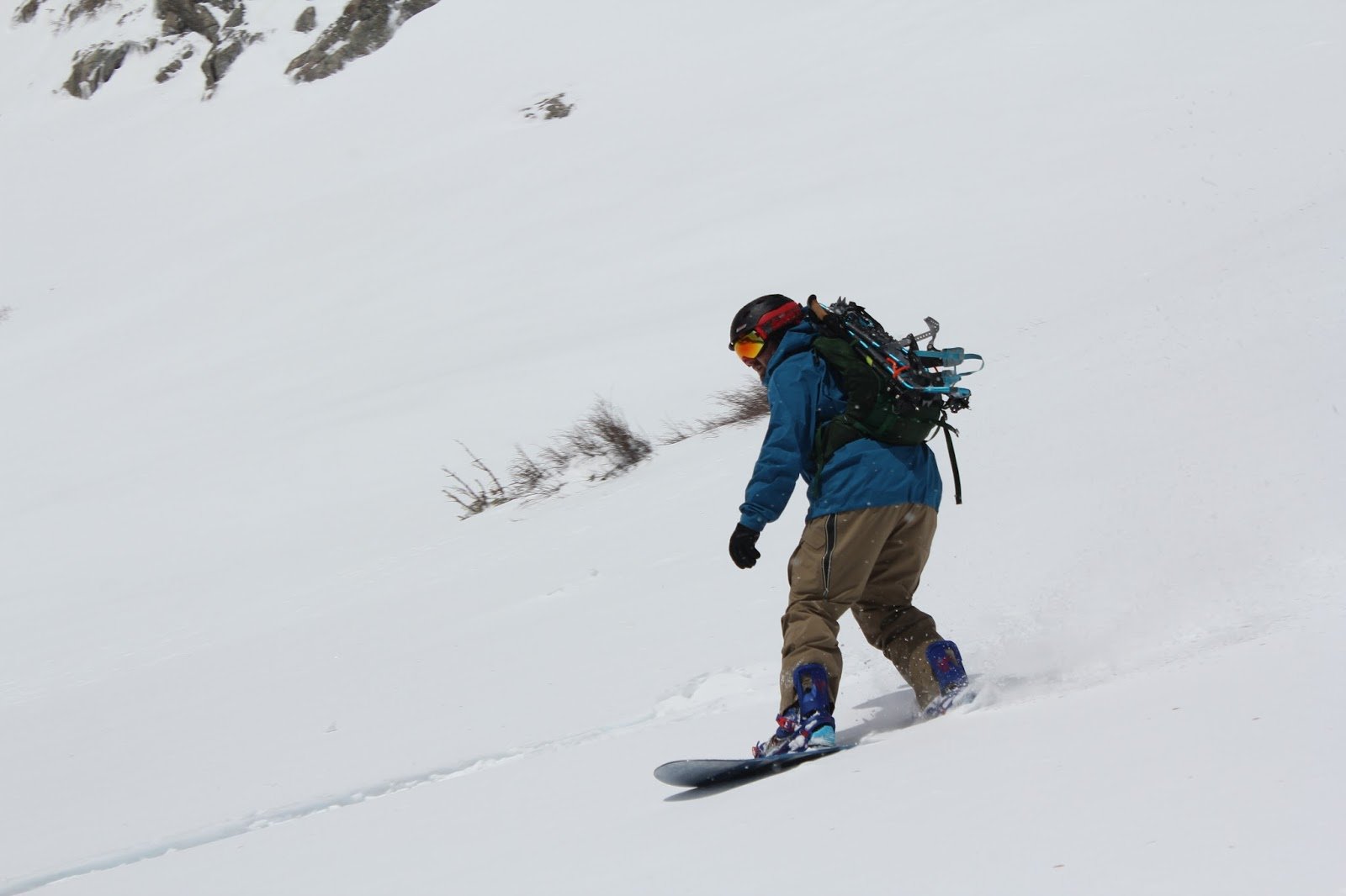 Spring Snow Brings Skiers And Snowboarders To St. Mary's Glacier