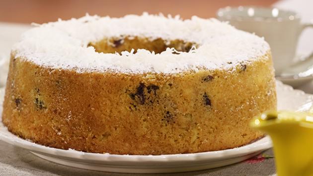 Receta de Torta de Especies rellena de Crema de Coco y Mermelada de Naranja