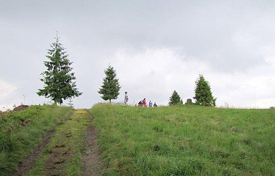Potrójna (883 m n.p.m.).