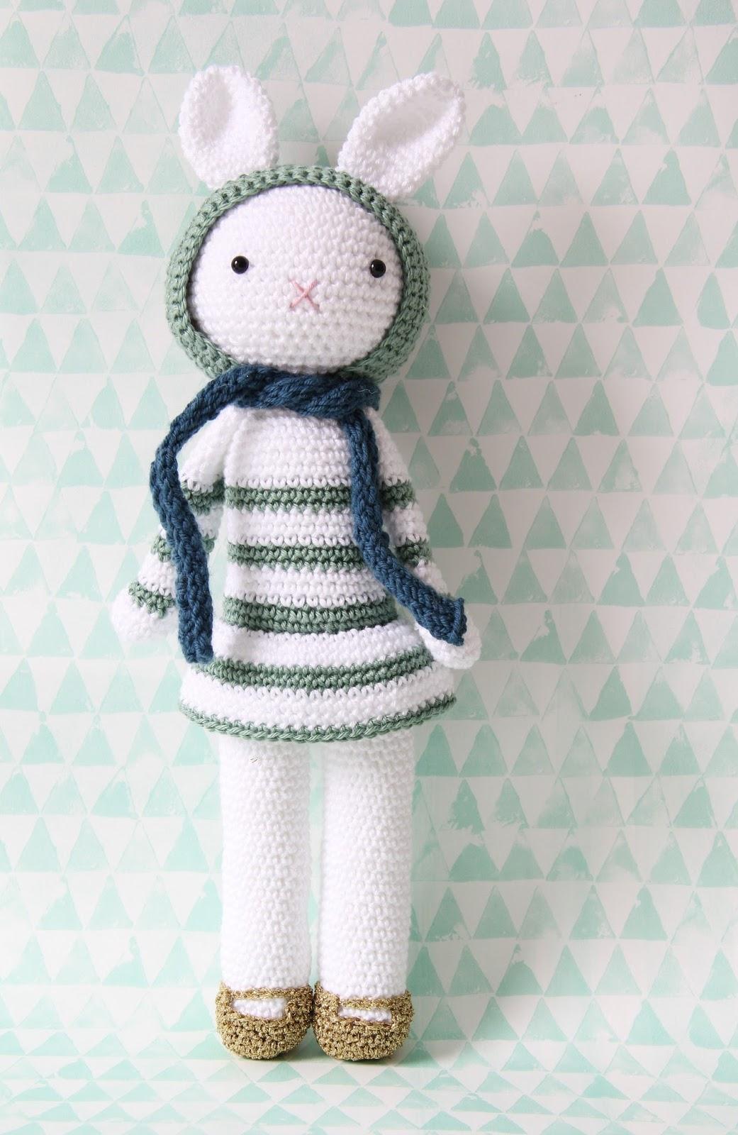 Studio Mojo Sweet Crochet Josephine Met Gouden Schoentjes