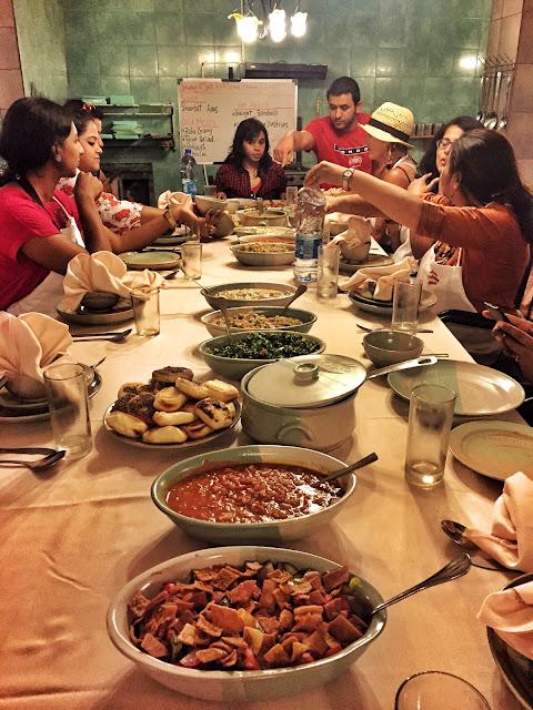 food vegetarian jordan indians mezze main course
