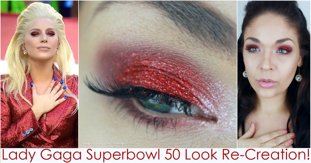 Just Wanted To Pop In Real Quick Share This Re Creation Look I Did Recently Of The Makeup Lady Gaga Wore For Superbowl 50
