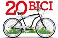 Logo Da Autogrill e Ciao puoi vincere 20 biciclette brandizzate Coca-Cola