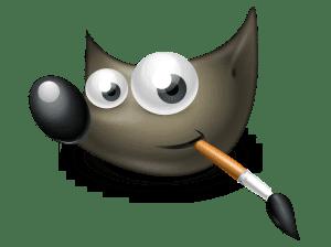 logo GIMP - modificare poze, imagini, conținut grafic