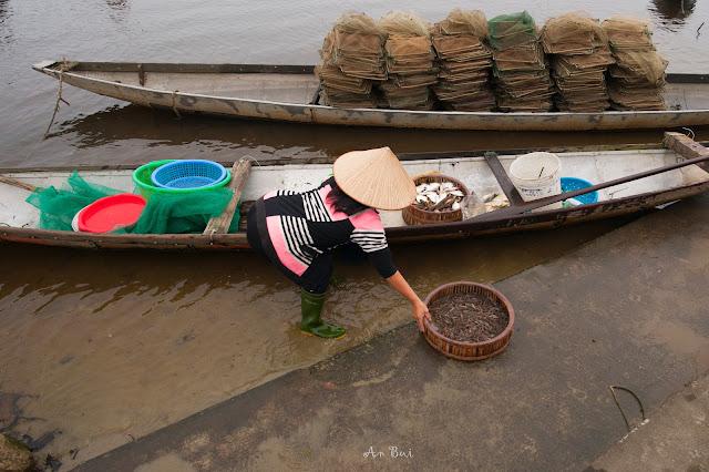 Làng chài Phá tam giang, Huế