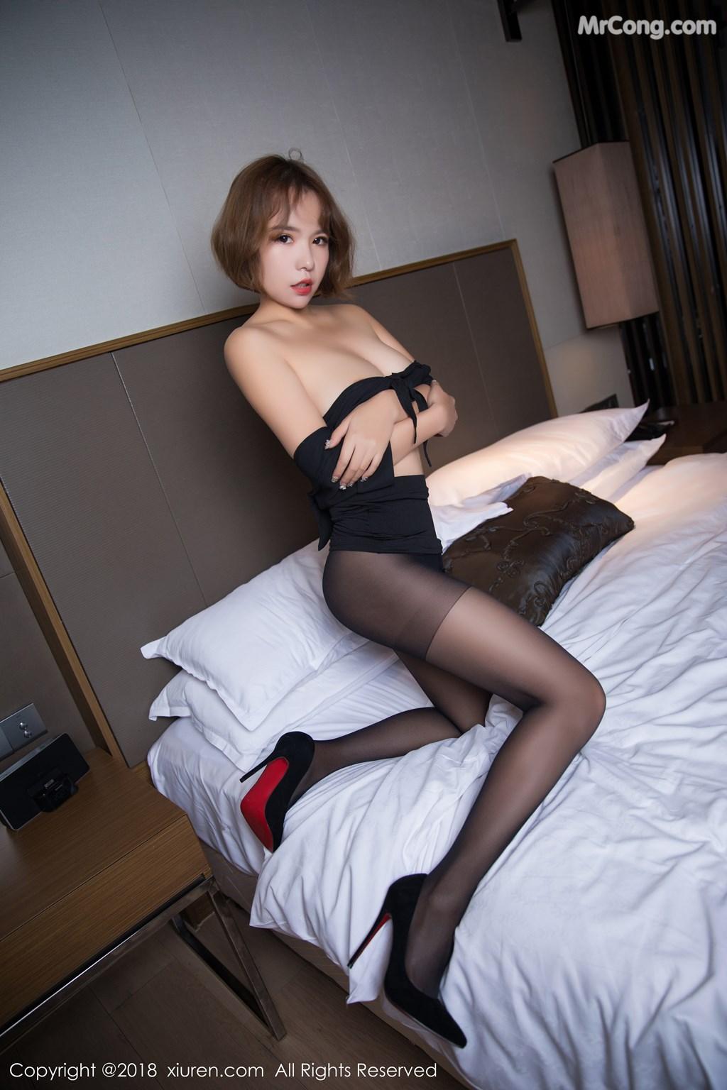 Image XIUREN-No.1264-Ya-Wen-MrCong.com-059 in post XIUREN No.1264: Người mẫu Ya Wen (雅雯) (61 ảnh)
