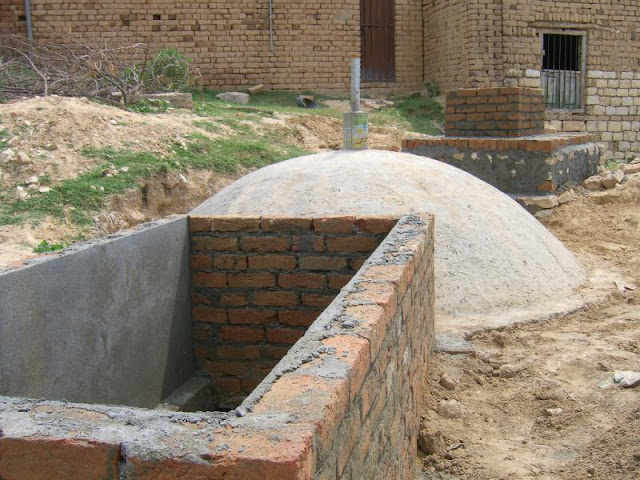 Construction of Outlet tank