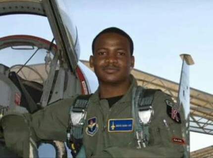 See Pilot Who Died In The NAF Aircraft Crash In Abuja (Photos)