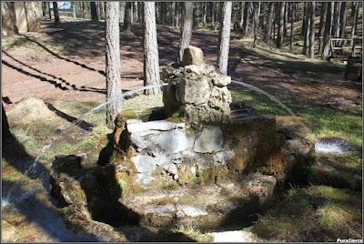 La Fuente De La Ardilla en un momento pluviométricamente álgido