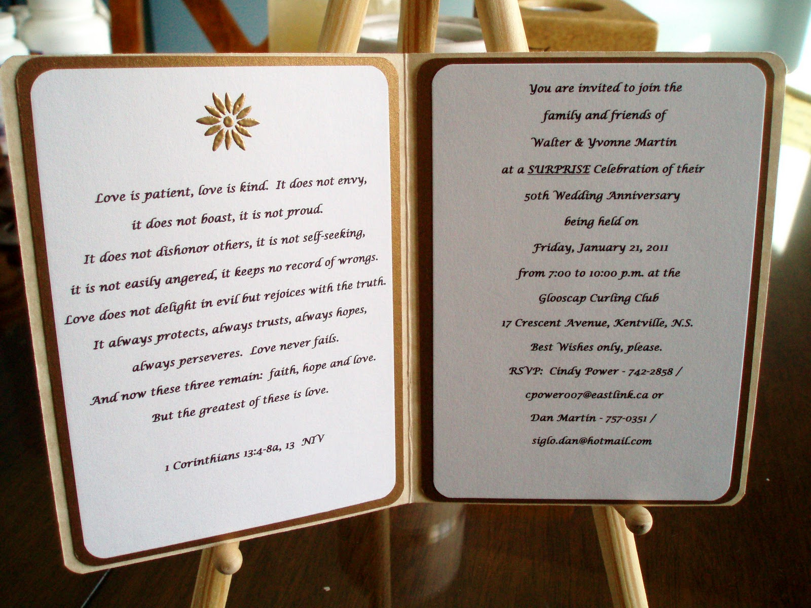 Suggestions For 50th Wedding Anniversary Gifts: Joyfilled: Mom & Dad 50th Wedding Anniversary