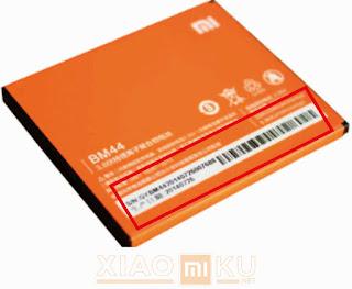 cek serial number baterai xiaomi asli