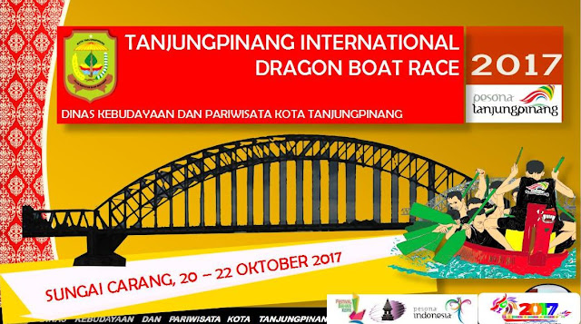 Tanjungpinang International Dragon Boat Race 2017