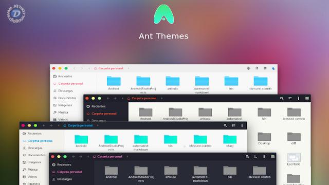 Como instalar o tema flat e moderno Ant no Ubuntu e Linux Mint