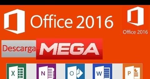 office 2016 full español + activador 2017 mega