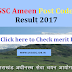 UKSSSC Ameen Post Code 46 Result 2017 - Check cutoff marks